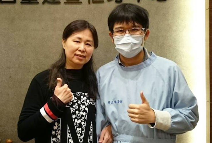 牙周病治療/植牙 - 陳小姐推薦