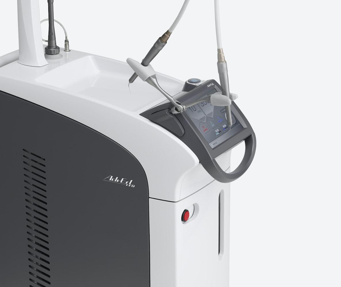 水雷射-牙周病-牙齦-雷射牙周治療-日本Morita水雷射-儀器側面-桃園-牙周病專科醫師